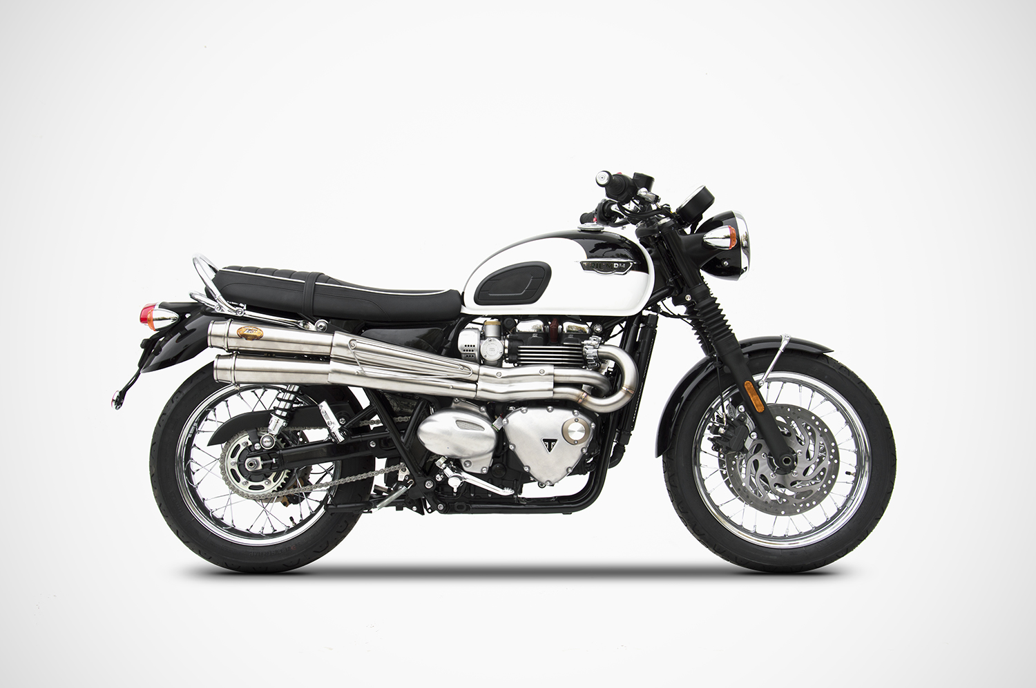 triumph bonneville t120 exhaust zard zard. Black Bedroom Furniture Sets. Home Design Ideas