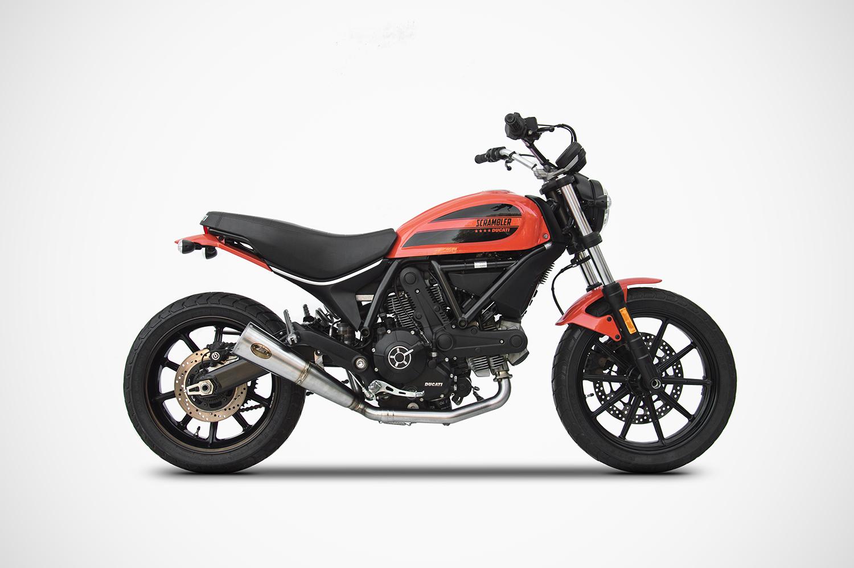 Scrambler Ducati 400 Sixty2 Exhaust Zard