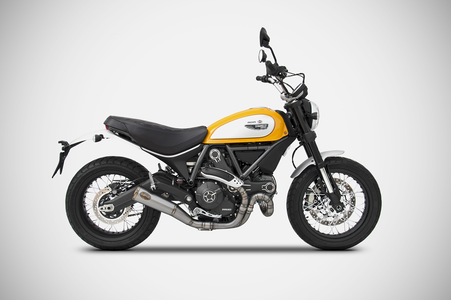 Ducati Scrambler Black Headers