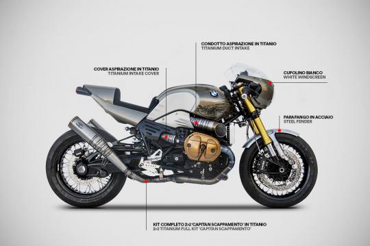 BMW NINE-T 1200 - KIT COMPLETO
