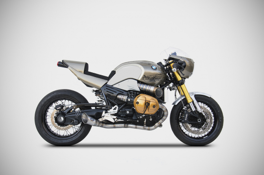 BMW NINE-T 1200 KIT COMPLETO IN TITANIO
