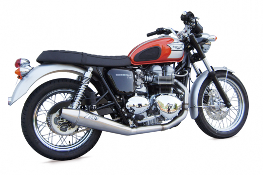 TRIUMPH THRUXTON - 2>1 LOW MOUNTED FULL KIT
