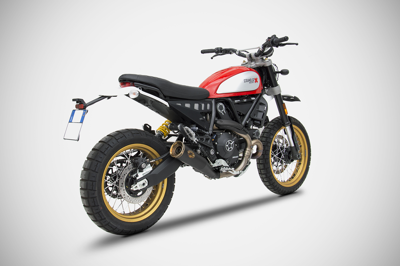 Ducati Scrambler Zard Exhaust