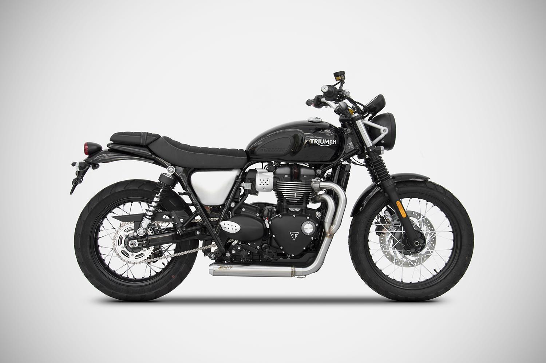 Zard Motorcycles exhaust - Triumph Street Scrambler