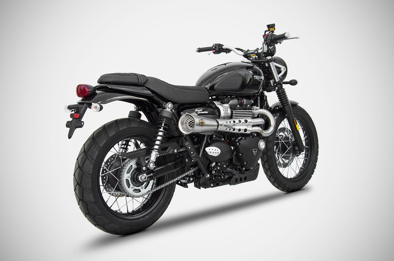 triumph street scrambler exhaust zard zard. Black Bedroom Furniture Sets. Home Design Ideas