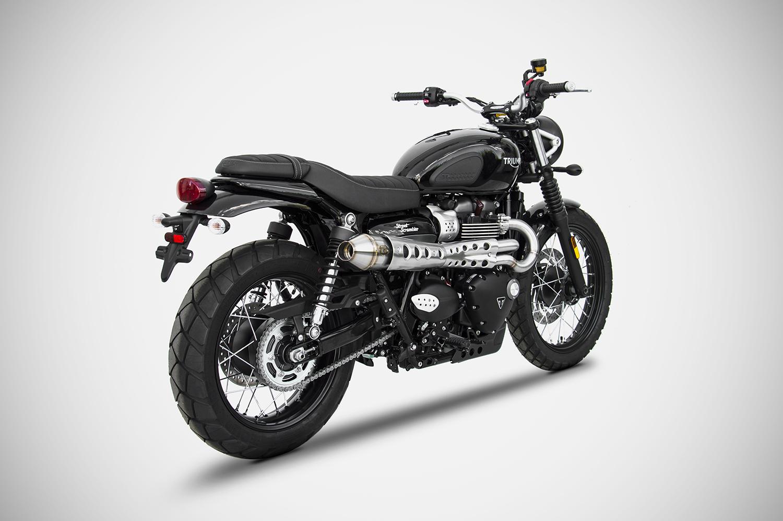 Suzuki Gsxr 600 >> SCARICO TRIUMPH STREET SCRAMBLER - ZARD - Zard