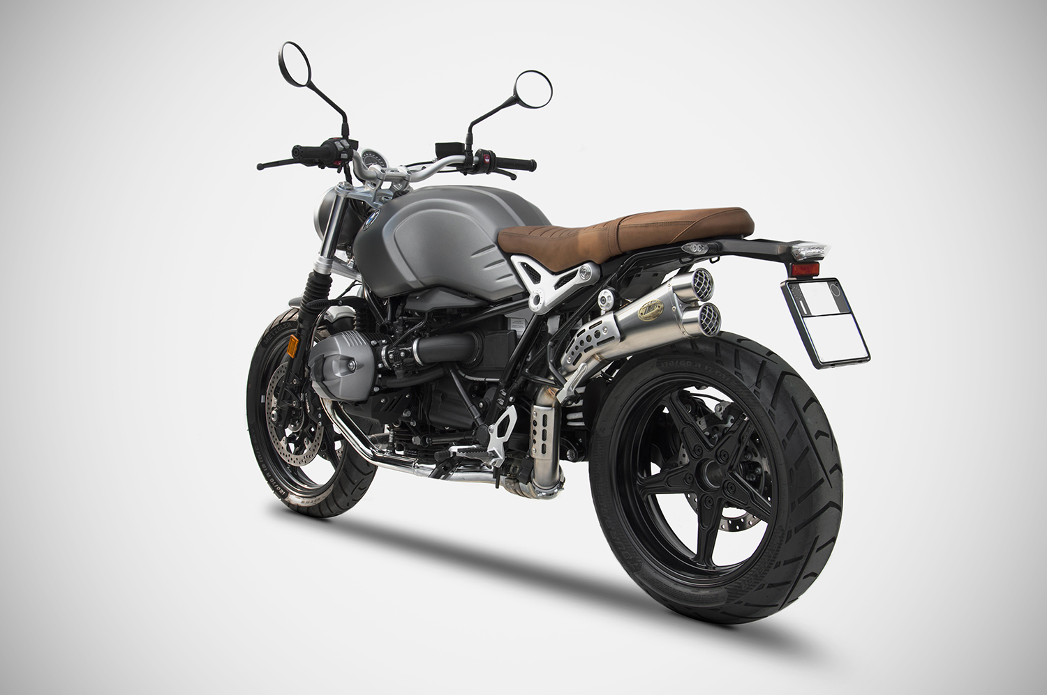 bmw r nine t scrambler exhaust zard zard. Black Bedroom Furniture Sets. Home Design Ideas