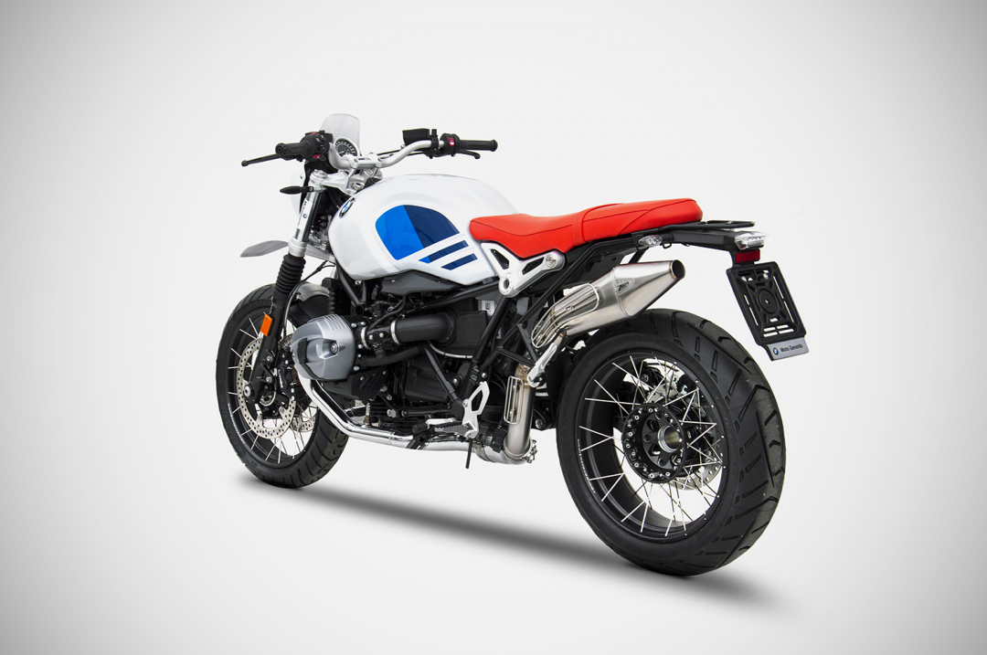 bmw r nine t racer scrambler urban gs exhaust zard. Black Bedroom Furniture Sets. Home Design Ideas