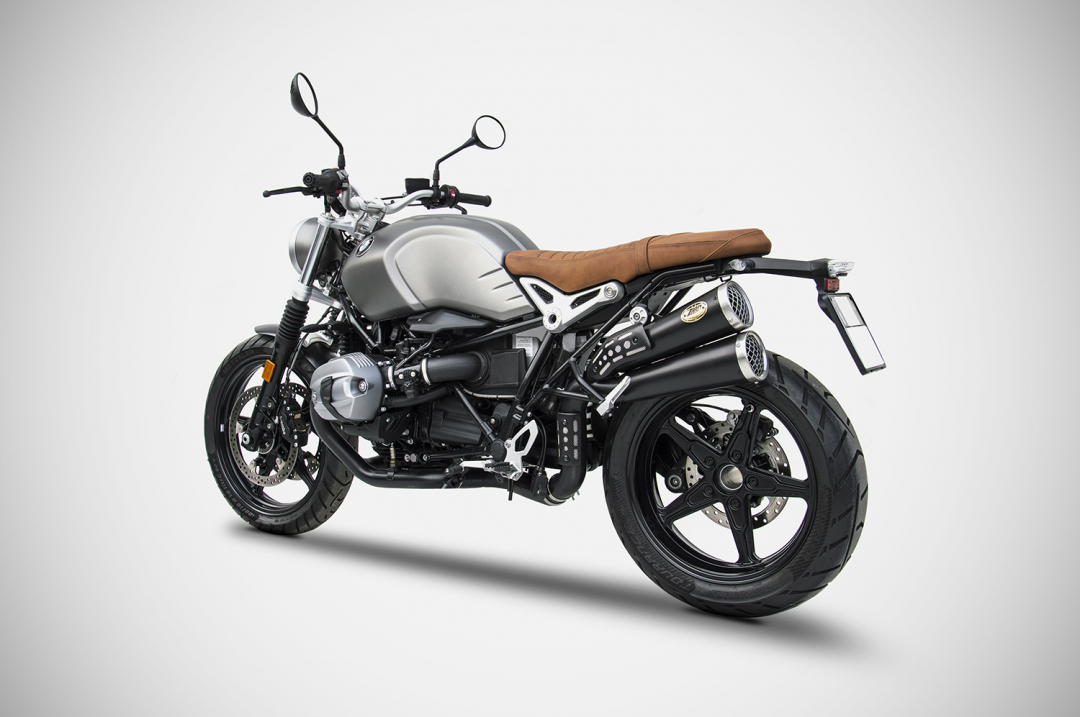 bmw r nine t scrambler exhaust zard. Black Bedroom Furniture Sets. Home Design Ideas