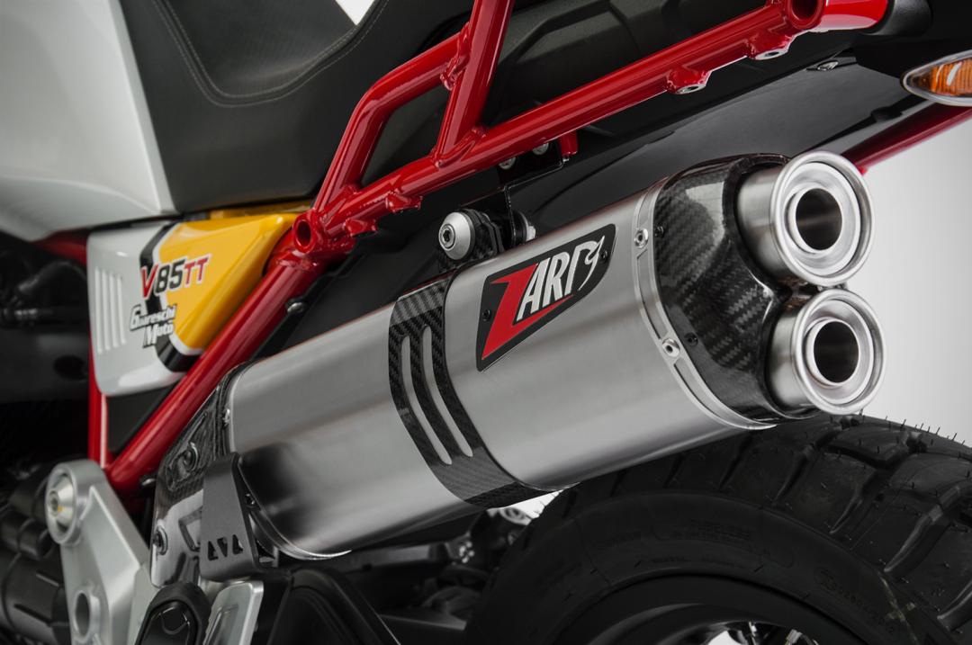 Zard Motorcycle exhausts | Moto Guzzi V85 TT