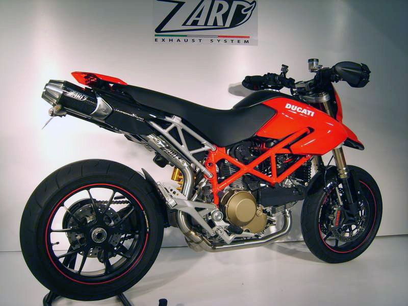 Ducati Hypermotard Exhaust Zard