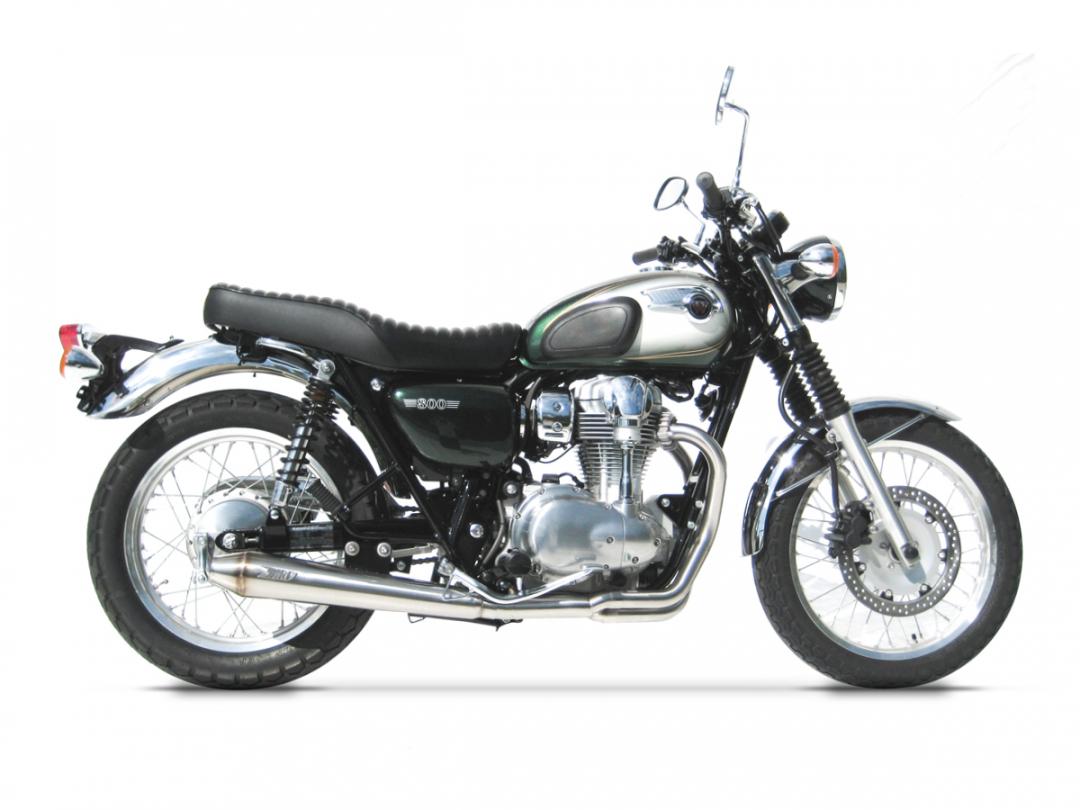 Kawasaki W800 Exhaust Zard